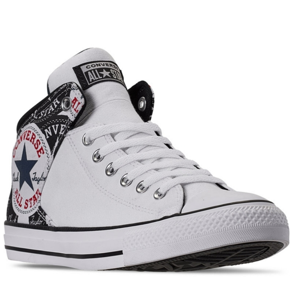 Converse Other - Converse Chuck Taylor -All Star White Mid High Str
